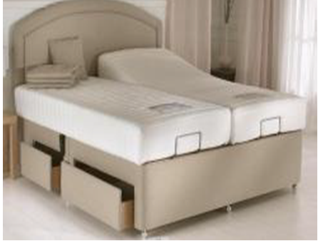 King size bed without the mattress B001-K1 Wireless Control and Massage