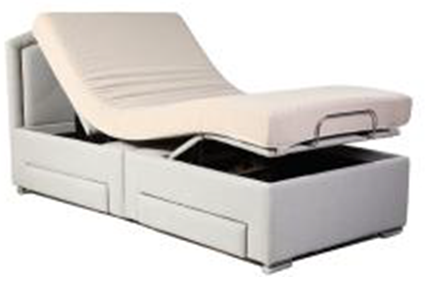 Queen size bed without the mattress B001-Q1 Wireless Control and Massage