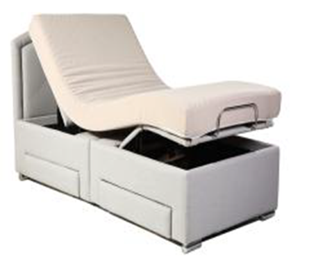 Twin XL without the mattress B001-S3 Wire Control and Without massage