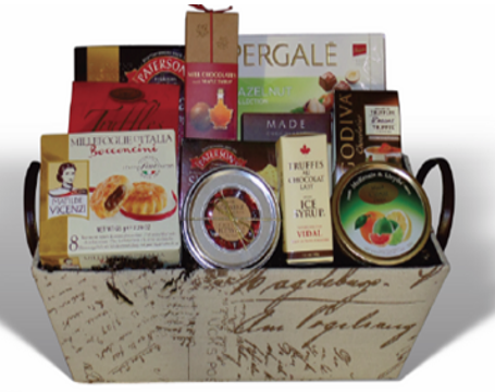 Holiday Charm Gift Basket