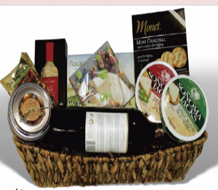 Savoury Treat Gift Basket