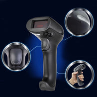 New 433MHz Wireless Laser Barcode Scanner Reader Memory Up To 500M Distance Wholesale