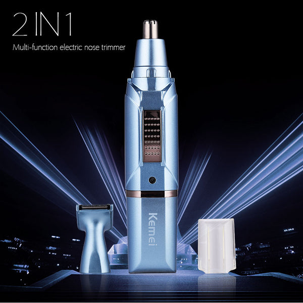 Fashion Rechargeable Nose Ear Trimmer Electric Shaving Safe Face Care Clipper Trimmer For Nose Hair Trimer For Man And Woman S50