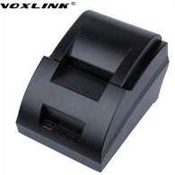 High quality VOXLINK Mini 58mm Low Noise POS Receipt Thermal Printer restaurant bill printer 90mm/s with USB interface