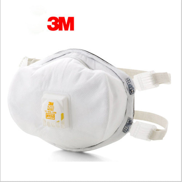 3M 8233 The particulate matter masks Dust mask N100 Respiratory Protection PM2.5 Against the flu masks Adjustable