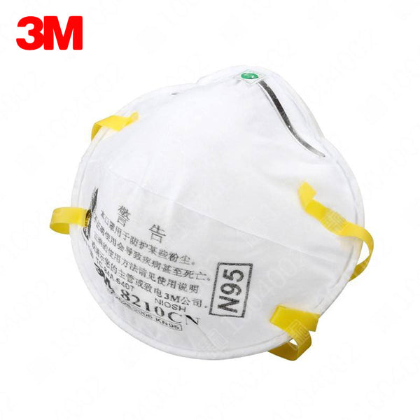 20 pcs/box 3M 8210 Dust Mask Anti-particles Anti-PM 2.5 N95 Standards Masks Working Respirator Safety Anti-Particulate Masks
