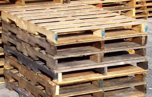 Used wooden Pallets 40