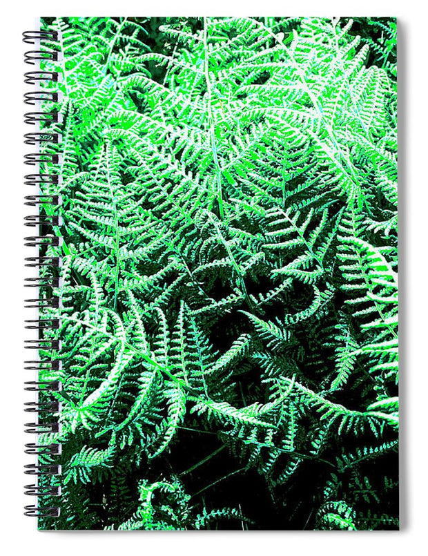 Fractal Ferns - Spiral Notebook