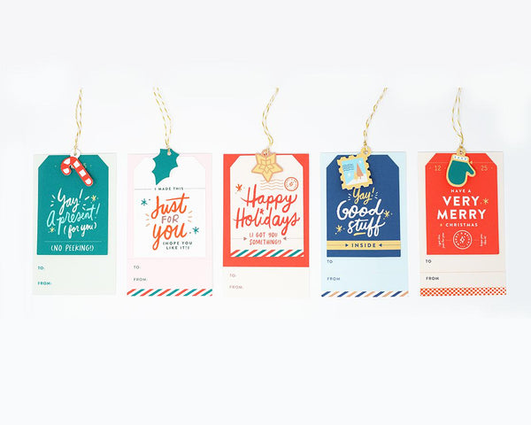 'Charming' Holiday Gift Tags by Everyday Yay