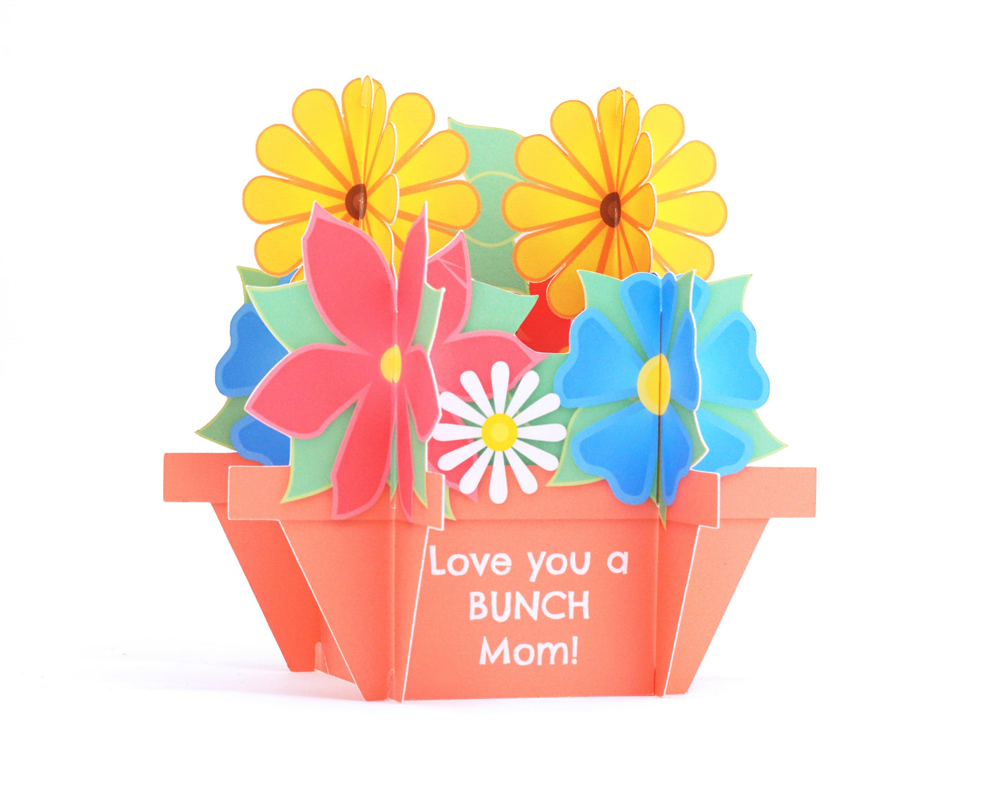 3D Bouquet Mother's Card