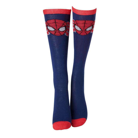 Chaussettes Hautes Spiderman - Femme-Very Bad Geek