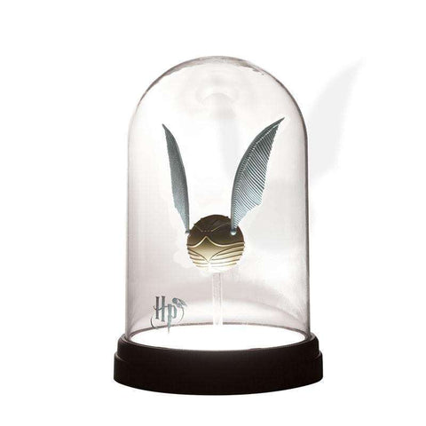 Lampe Harry Potter Vif d'Or sous cloche-Very Bad Geek