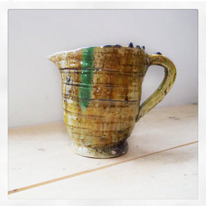 Tamegroute Glazed Jug - Mini