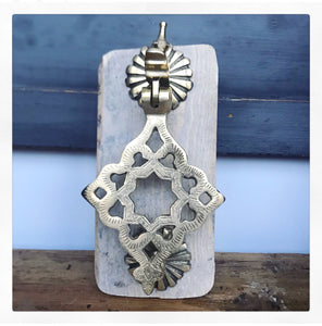 Handcrafted Solid Brass Door Knocker