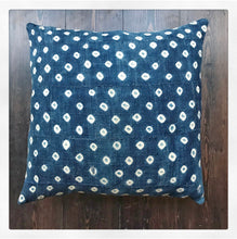 Vintage Mud Cloth Cushion Cover - White Spot