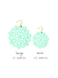 Mandala Earrings - Mini - Wandermint