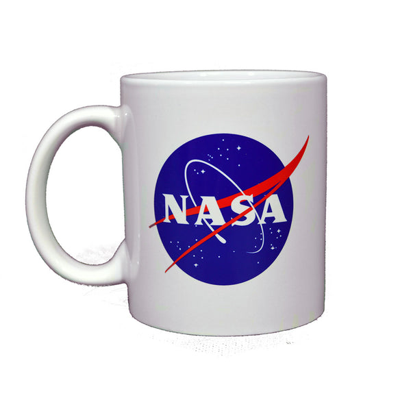 White Ceramic NASA Mug 11oz