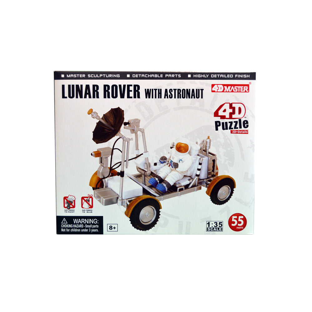 4D Lunar Rover with Astronaut Puzzle
