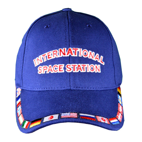 Navy International Space Station Cap