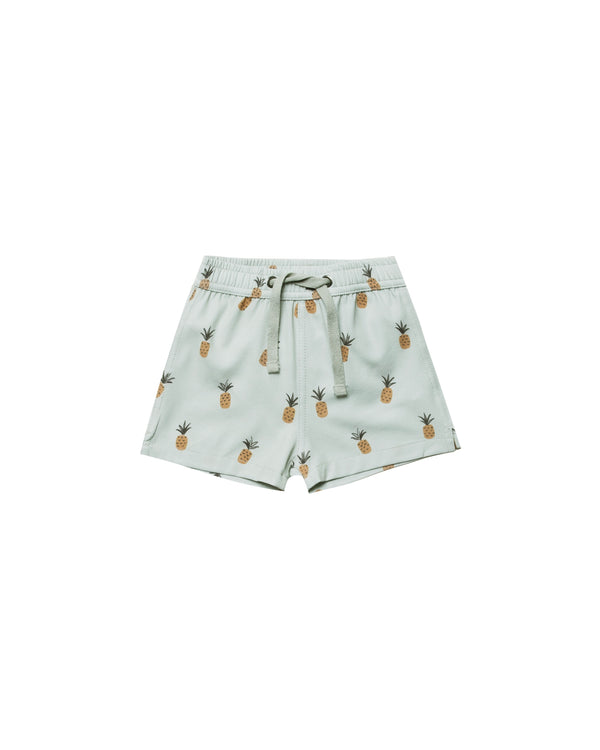 Rylee + Cru - Swim Trunks Pineapple