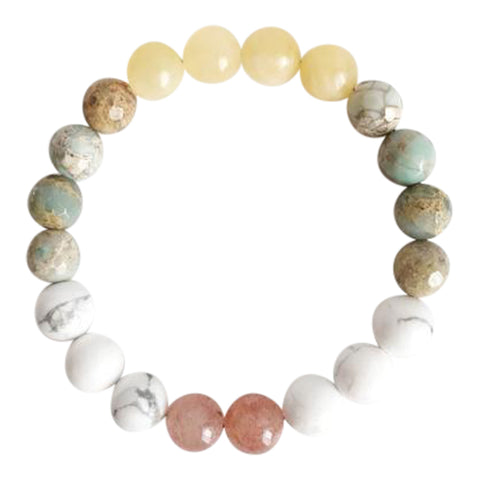 Balancing Energy Mix - Gemstone Mix Bracelet