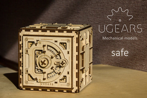 Safe - UGears - Uniquely safe treasures
