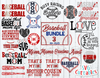 Baseball Bundle 3 | SVG Cut File