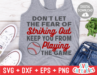 Baseball Quote | SVG Cut File