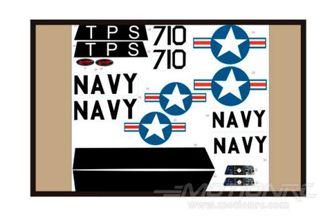 Dynam T28 Decal Sheet - Red DY-T28-14-RED