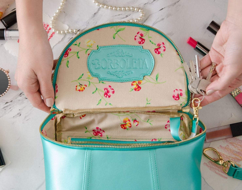 Mini Demilune Backpack by Borboleta