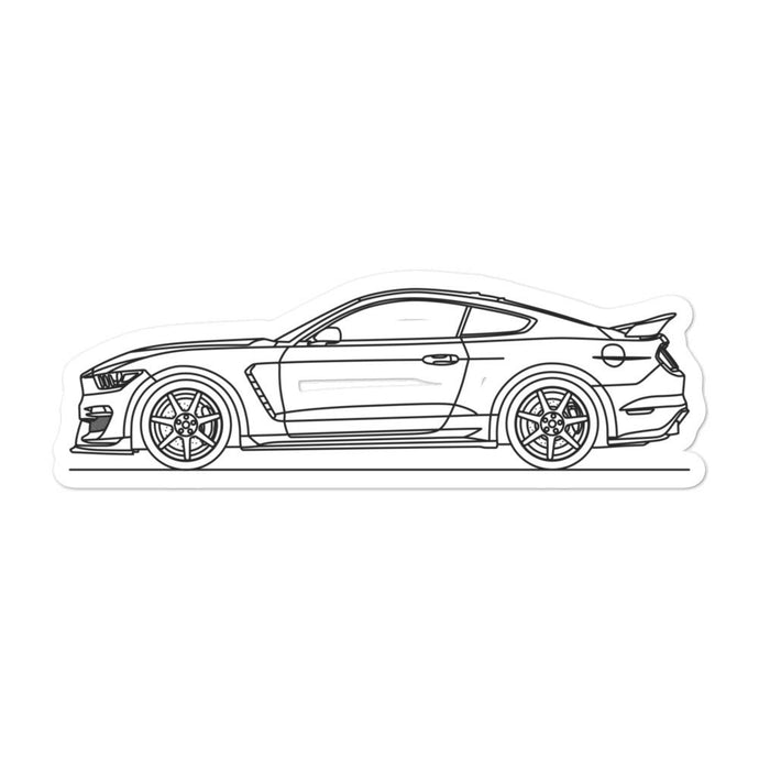 Ford Mustang S550 GT350R Sticker