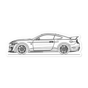 Ford Mustang S550 GT500 Sticker
