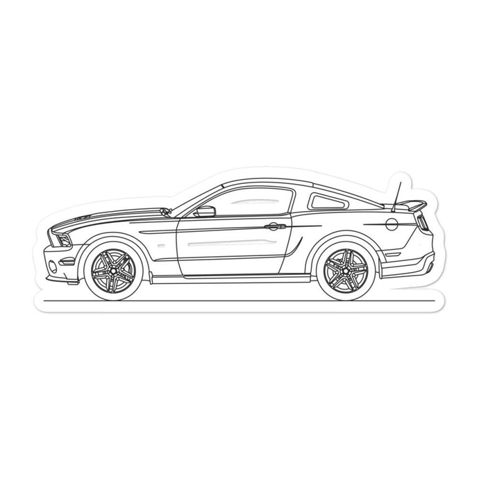 Ford Mustang S197 GT500 Sticker