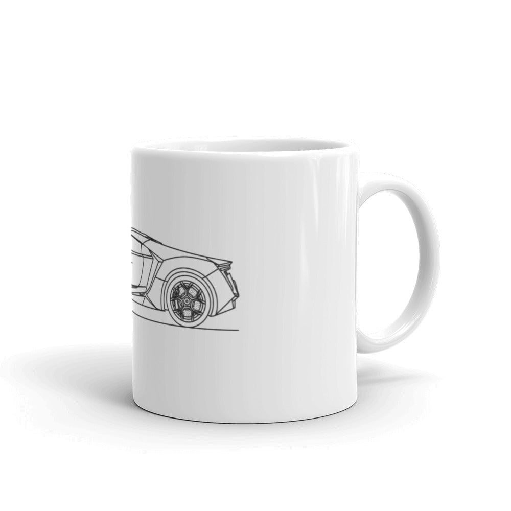 W Motors Lykan Hypersport Mug