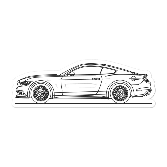 Ford Mustang S550 GT Sticker