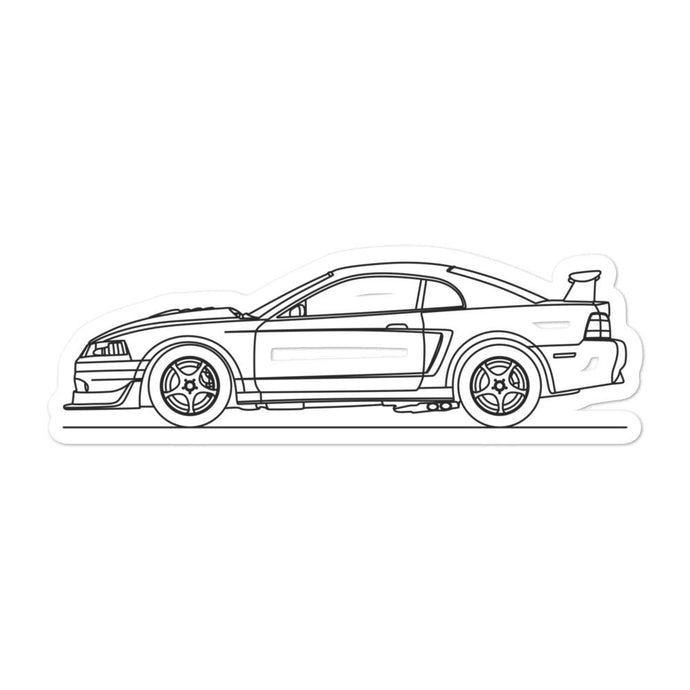 Ford Mustang SN-95 SVT Cobra R Sticker