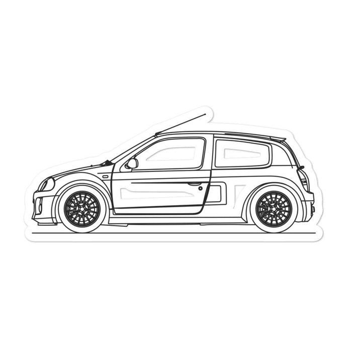 Renault Clio V6 Sticker
