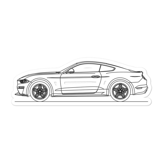 Ford Mustang S550.2 GT Sticker