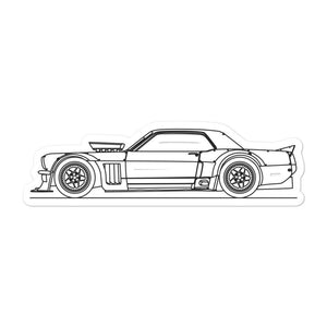 Ford Mustang Ken Block Sticker