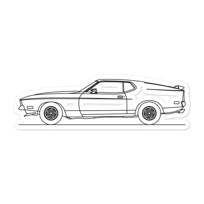 Ford Mustang Mach 1 Sticker