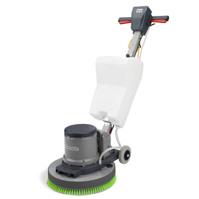 Numatic HFM1515G 240v With Shampoo Brush And Tank - Slow Speed Hurricane Floor Machine -  Buffer - Numatic