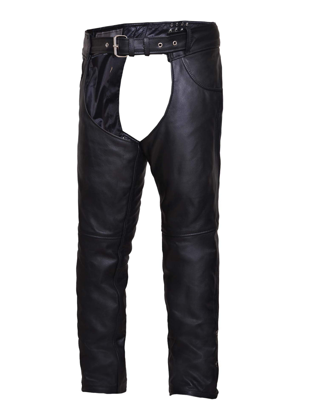 UNIK Unisex Premium Leather Motorcycle Chaps
