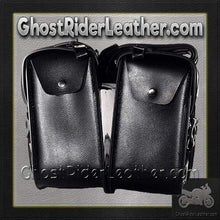 PVC Motorcycle Saddlebags / SKU GRL-SD4072-PV-DL-saddlebags-Ghost Rider Leather