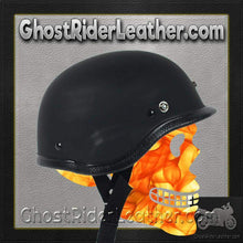 Tiger Desert Storm Novelty Motorcycle Helmet Flat or Gloss / SKU GRL-TIGER-NOV-HI-novelty motorcycle helmet-Ghost Rider Leather