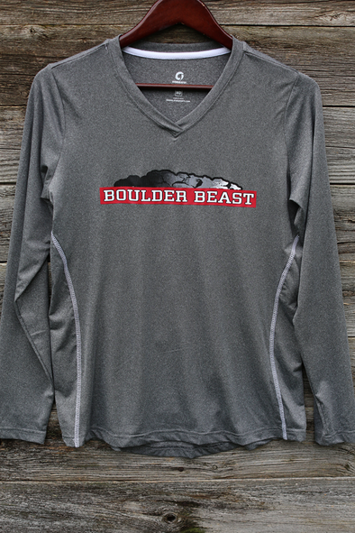 Boulder Beast Women's long sleeve tech shirt