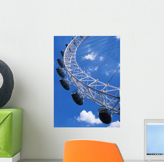 The Millennium Wheel Wall Mural