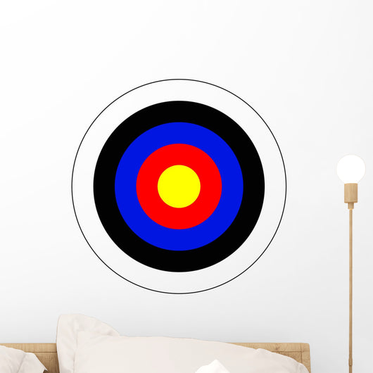 Bullseye Wall Decal