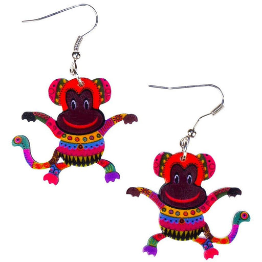 Monkey Earrings - jenzys.com