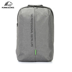 Kingsons Laptop 15.6 Inch High Quality Waterproof Nylon Backpack