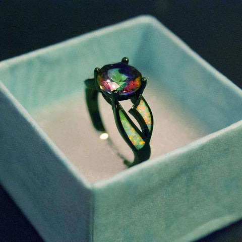 Fire Opal Ring - CoventryMall